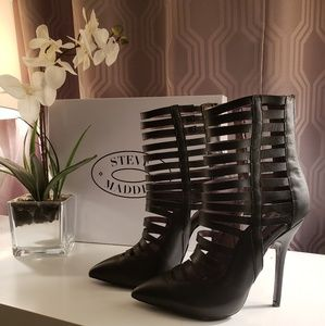 Steve Madden Leather Lauper Booties